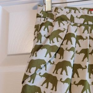 Anthropologie Shorts - Anthropologie Cartonnier Finchley Elephant Shorts